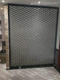 钢板拉伸网,冲压网,装饰金属网格,钢丝网菱形