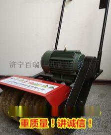 山东百瑞达钢结构防腐翻新用彩钢瓦除锈机打磨机