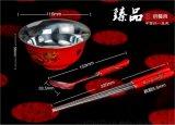 悦达银瓷千足银碗银筷子银勺子100克银餐具现货销售