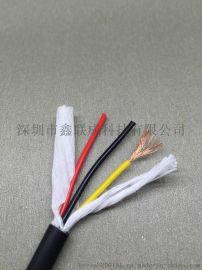 深圳耐弯曲1000万次3芯1.0平方拖链电缆TRVV3*1.0伺服电机拖链电缆