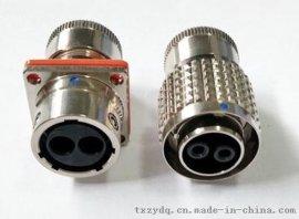 C10514N-2芯压接式推拉连接器