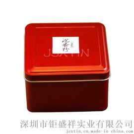 越南沉香粉铁盒包装 香道马口铁盒 精美沉香包装盒