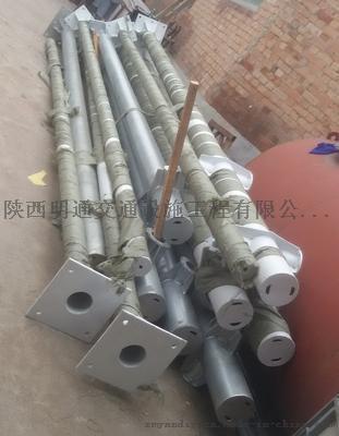 西安无缝钢管,镀锌钢管,单立柱标志杆路杆加工