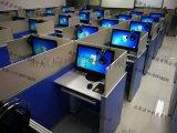电动升降卡座-屏风升降隔断电脑桌-英语四六级考试电脑桌