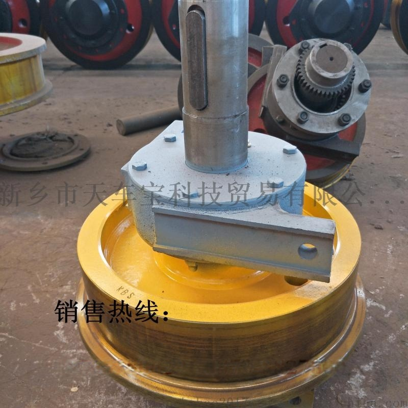 亚重锻钢铸钢直径250*90单边行车轮