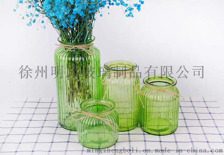 玻璃花瓶厂家,玻璃彩色花瓶批发