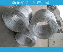 河北镀锌丝生产商 40g上锌量热镀锌丝织网专用丝