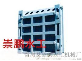 崇鹏水工制造安装卷扬式钢制闸门一条龙服务