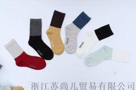 纯棉苏尚儿儿童袜代理V13400707022