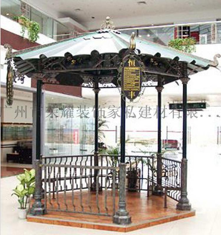 廣州雨棚 定製 鐵藝涼亭 鐵藝裝飾棚 婚慶門拱