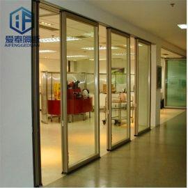 办公室活动隔断屏风 移动隔音墙 折叠门