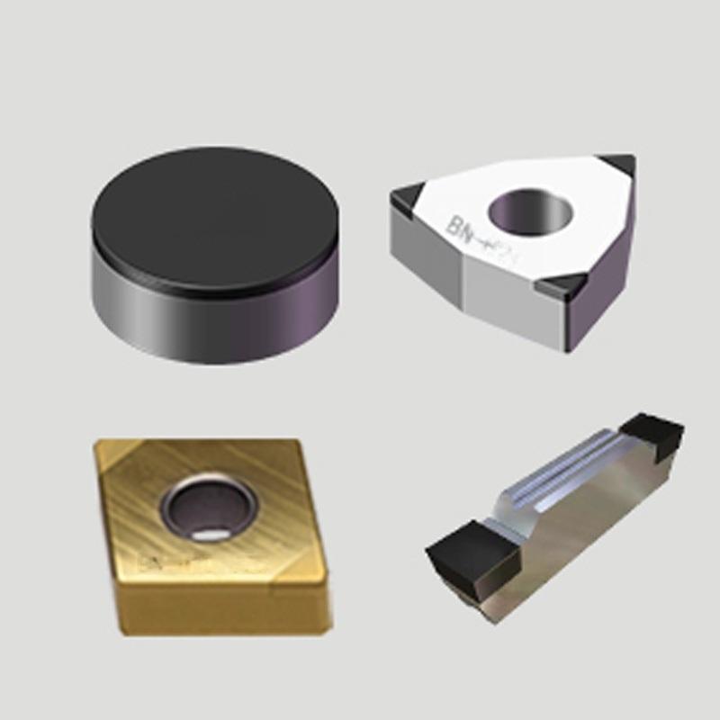 华菱品牌硬车加工淬火后HRC58-62高硬度淬火件的专用PCBN刀片