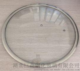 宽边玻璃盖,玻璃盖,钢化玻璃盖,炒锅汤锅玻璃盖