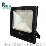 正方形暢銷款LED投光燈,倒裝光源50W投光燈
