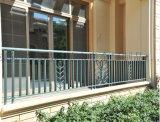 永奇金属制品玻璃阳台栏杆阳台护栏锌钢百叶窗生产拼装好发货