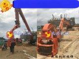 武汉哪里有挖掘机改打钢板桩机