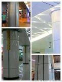 木纹包柱铝单板 油漆包柱铝单板 大堂包柱铝单板