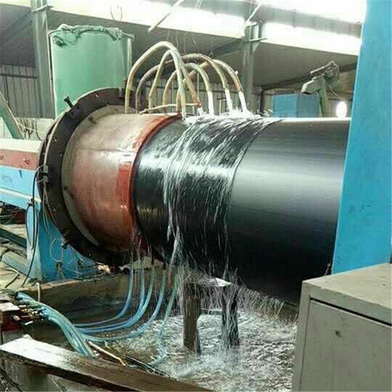 高密度聚乙烯黑黃夾克外護管 聚氨酯直埋保溫管