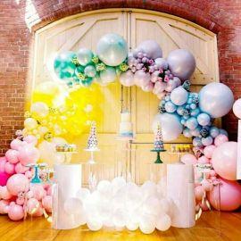 昆明花語花香氣球告白氣球裝飾氣球造型