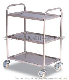 不锈钢工作台桌防静电流水线周转车铝型材手推车线棒架