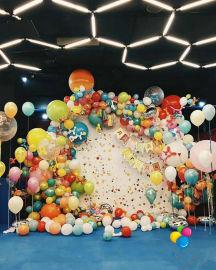 昆明、花語花香、氣球婚房布置、氣球婚禮布置