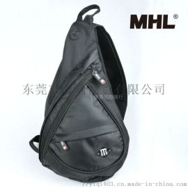 MHL 自行车斜挎包单肩胸包 骑行包 牛津布休闲包