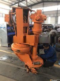 JHW高效率挖掘机抽沙泵-河滩整治大流量液压泥沙泵