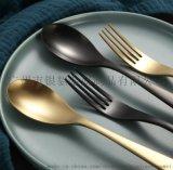 直销 新品弯月Y882系列不锈钢西餐刀叉勺