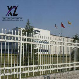 锌钢围墙护栏、铁艺围栏护栏、围墙防护栏杆