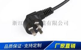 品字尾三插国标电源线插头电源线 PVC绝缘电源线