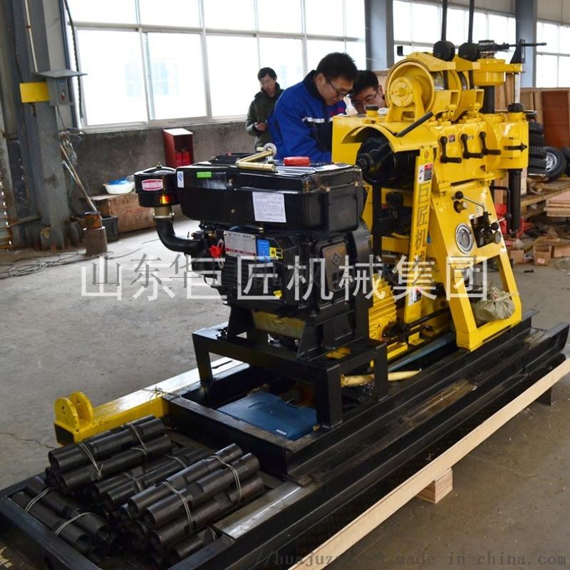 巨匠集团HZ-200YY液压水井钻机 打井机