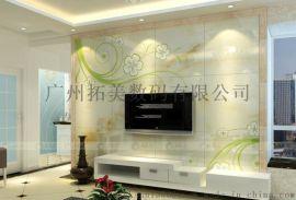 广州 背景墙广告标识彩印机新设备艺术屏风 全自动生产