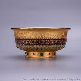 锌合金镀金室内摆件纪念品工艺品 内蒙荣朝工艺品