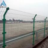高速隔离护栏网 绿色方格护栏网