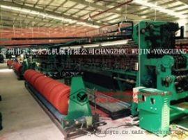 厂家定制生产针织手提网眼袋编织机