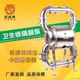 粘稠物用QBW3-80PKFF固德牌氣動隔膜泵