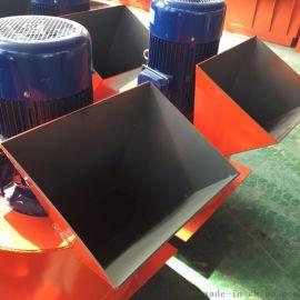 水分高可用链时产 有机肥生产线必备粉碎机 大型移动链式粉碎机