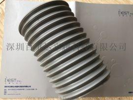 钢丝伸缩TPU风管软管  聚氨酯除尘软管