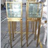 異形不鏽鋼展示櫃 精品皮具 包包不鏽鋼展示臺 製品廠家