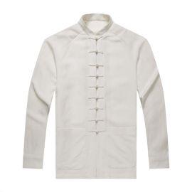 厂家来图来样订做唐装男装 唐装套装 复古休闲棉麻套装 礼服工作服演出服