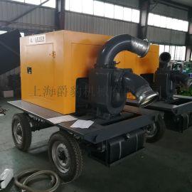 6寸柴油机移动泵车