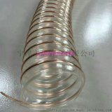 鼓風專用管PU彈性鍍銅鋼絲管傢俱廠粉塵專用管
