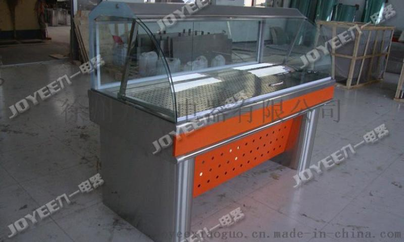 前翻玻璃门保温台 小碗菜保温柜