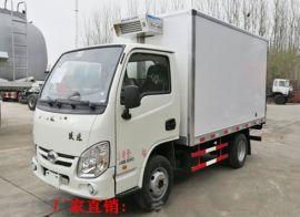 躍進小福星小型冷藏車廂長3.2米