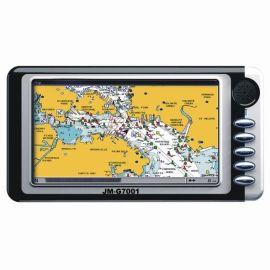7寸触摸屏+PMP车载便携式GPS导航仪 (JM-G7001)