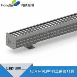 144W洗牆燈_144W大功率led線形燈_144W線形洗牆燈