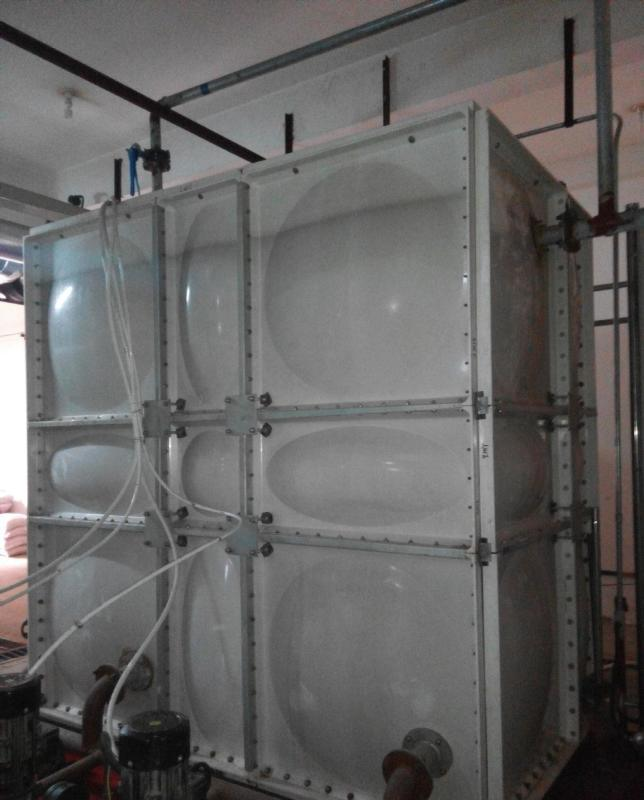 高架水箱 玻璃钢天台水箱 不锈钢入墙水箱材料