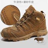 高幫徒步鞋防水跑鞋戰術靴戶外沙漠靴登山鞋男機車靴