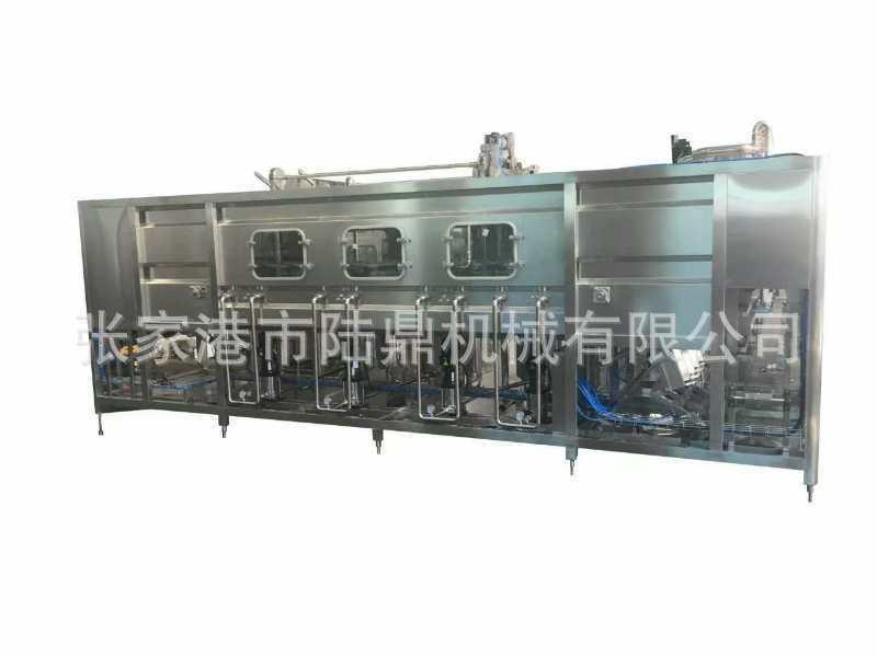 大型全自动液体灌装机,1200桶每小时的灌装生产线