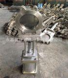 美标刀型闸阀 气动不锈钢浆闸阀 150LB
